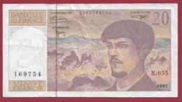 "20 Francs ""Debussy"" 1997 ---VG/TTB----Série -N.055 - 1962-1997 ''Francs''"