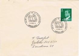 34138. Carta BARCELONA 1979. Fechador Especial CONSTRUMAT, Salon De La Construccion - 1931-Hoy: 2ª República - ... Juan Carlos I