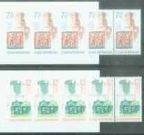 CZ 2007-520-1 VOLK ARTS, CZECH REPUBLIK, 2BOOKLETS, MNH - Repubblica Ceca