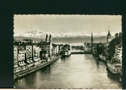 CARTOLINA -  SVIZZERA  -  ZURICH  1987 - ZH Zurich