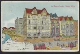 KNOKKE * LE ZOUTE KNOCKE * HOTEL JACOBS *  1912 * 2 SCANS - Knokke