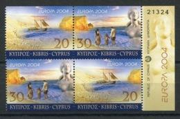 RC 14117 EUROPA 2004 CHYPRE NEUF ** MNH - 2004