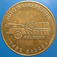 TA 005-2b - Autorette Helmond Netherlands - 04920 543494 - Auto Wasserette Car Wash Machine Token Clean Park Auto Wasch - Firma's