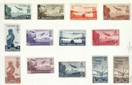 Italie, Afrique Orientale Italienne, Poste Aérienne N° 1 à 13 * - Charnière - - Afrique Orientale Italienne