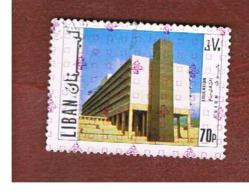 LIBANO (LEBANON) -  SG 1229 - 1978 SCIENCES SCHOOL (OVERPRINTED)  - USED ° - Libano