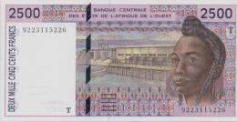 WEST AFRICAN STATES P. 812Ta 2500 F 1992 AUNC - Togo