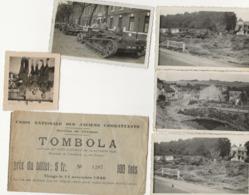 GIVONNE 1940 WW2 PHOTOS D EPOQUE LOT VOIR + - Sonstige Gemeinden