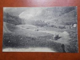 Carte Postale  - ALLOS (04) - Montée Du Col D'Allos - Voitures (3670) - France