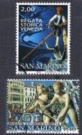 2005 - SAN MARINO - REGATA STORICA DI VENEZIA / HISTORICAL REGATA OF VENICE - USATO / USED - Usati
