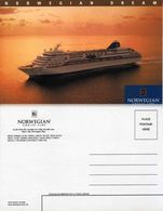 "Ship Postcards - Passenger   Ship : ""Nowegian Dream    "" Variant  Read Description - Ships"
