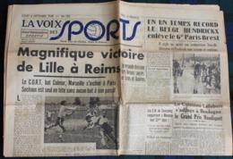 La Voix Des Sports   N° 132  Du 6 Septembre 1948, Avec Compte Rendu Du 6e Paris Brest Paris Par Jean Leulliot - Journaux - Quotidiens