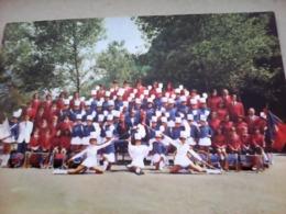 CARTE POSTALE MAJORETTES FANFARE REVEIL ALBERTVILLOIS ALBERTVILLE  73 SAVOIE - Musik