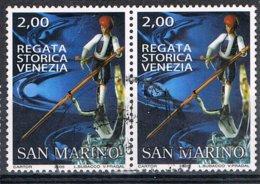 2005 - SAN MARINO - REGATA STORICA DI VENEZIA / HISTORICAL REGATA OF VENICE - USATO / USED - San Marino