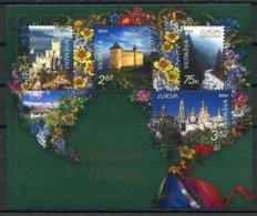 RC 14128 EUROPA 2004 UKRAINE FEUILLET NEUF ** MNH - 2004