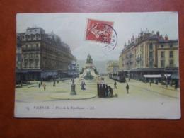Carte Postale  - VALENCE (26) - Place De La République 1916 (3673) - Valence
