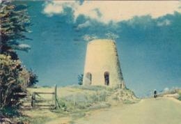 ANTIGUA : Ancien Windmill   : Carte Editions ARCHES JOHANNOT MARAIS . Oblitération Basse-Terre St Kitts De 1956 - Antigua & Barbuda