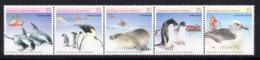 Serie Nº 79/83 Australian Antartic - Mamíferos Marinos