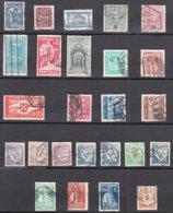 PORTUGAL   Lot De 25 Timbres Oblitérés    Sans Charniere Au Verso - 1910-... Republic