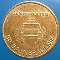 TA 008-1 - BP Bakker - Wilnis Netherlands - Auto Wasserette Car Wash Machine Token Clean Park Auto Wasch - Firma's