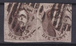 N° 10 A Paire Margée - 1858-1862 Medaillen (9/12)