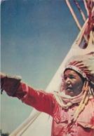 BAHAMAS  :  Chef Indien :  Carte Editions ARCHES JOHANNOT MARAIS . Oblitération Nassau De 1955 - Bahamas