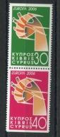 RC 14135 EUROPA 2006 CHYPRE NEUF ** MNH - Europa-CEPT