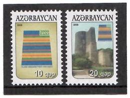 Azerbaijan 2009. Definitives. Baku. 2v: 10, 20.  Michel # 753-54 - Aserbaidschan