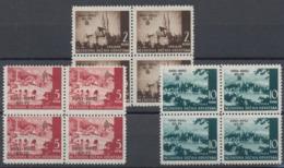 Croatie - Mi N°78/80 En Bloc De 4 **   MNH (1942) - Kroatien