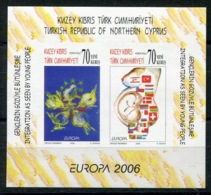 RC 14138 EUROPA 2006 CHYPRE TURC NEUF ** MNH - Europa-CEPT