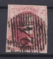 N°  8  Margé Perception 24 BRUXELLES - 1851-1857 Medaillen (6/8)