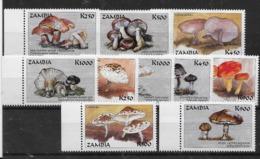 Serie De Zambia Nº Yvert 757/66 ** SETAS (MUSHROOMS) - Zambia (1965-...)