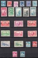 ALGERIE   Lot De 23 Timbres Oblitérés    Sans Charniere Au Verso - Algérie (1924-1962)