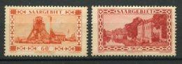14981 SARRE N°140/40A *  Dentelés 13 1/2   1930-32    B/TB - Unused Stamps