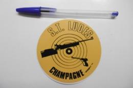 Autocollant Stickers - Société De TIR à LUDES 51 MARNE CHAMPAGNE - Autocollants