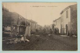 Carte Postale écrite 1944 Mollèges, Bouches Du Rhône (13), Maison En Construction Avenue Des Palus - France