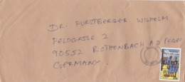 BUSTA VIAGGIATA  - NIGERIA - LAGOS - VIAGGIATA PER ROTHENBACH ( GERMANIA) - Nigeria (1961-...)