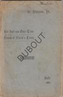 HALLE - Spel Onze Lieve Vrouw - Walgrave , 1911   (R261) - Vecchi