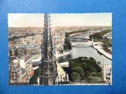 1951 CARTOLINA POST CARD FRANCIA PARIS PERSPECTIVE SUR LA SEINE - Altri