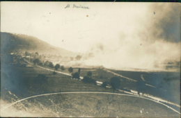 55 SAINT MAURICE SOUS LES COTES /  Un Incendie / Carte Photo - Autres Communes