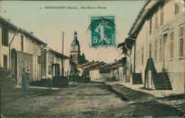 55 TRIAUCOURT / Rue Haute D'Evres / Carte Couleur - Sonstige Gemeinden
