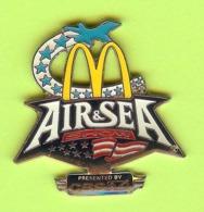 Pin's Mac Do McDonald's Air & Sea Show Presented By CBS 4 - 8II08 - McDonald's