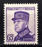 MONACO 1937 - Y.T. N° 160  - NEUF** /1 - Monaco