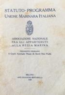 Italie, Unione Marinara Italiana 1928. 16 Pages. - Boeken, Tijdschriften, Stripverhalen