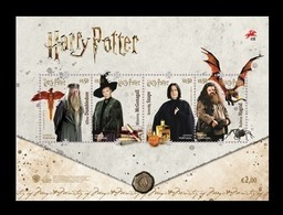Portugal 2019 Mih. 4534/37 (Bl.447) Cinema. Harry Potter MNH ** - Unused Stamps