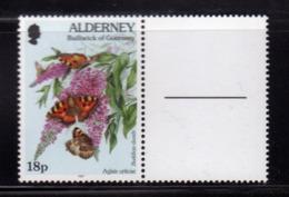 ALDERNEY 1997 FLORA AND FAUNA 18p MNH - Alderney