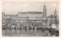CROATIA - SPLIT - ZIDINE DIOKLECIJANOVE PALACE ~ AN OLD RP POSTCARD #94612 - Croatia