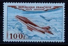 France Poste Aérienne 1954 - YT N°30 - 100f. Bleu Et Brun-rouge - Neuf Sans Charnière - Poste Aérienne