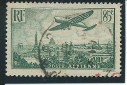 FRANCE: Obl., PA N°8, TB - Airmail