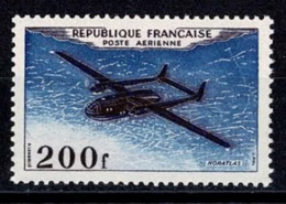 France Poste Aérienne 1954 - YT N°31 - Brun-noir Et Outremer - Neuf Sans Charnière TB - Poste Aérienne