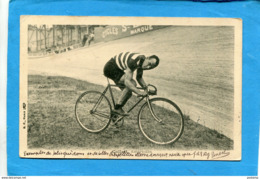 COLLETT-coureur CyclisteAméricain- Nouveau Guidon De Vélo-voyagé En1905 Pour Allemagne-Kempten-édition - Cycling